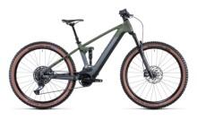 e-Mountainbike Cube Stereo Hybrid 120 TM 750 29 flashgrey´n´olive