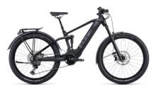e-Mountainbike Cube Stereo Hybrid 120 SL Allroad 625 27.5 black´n´met