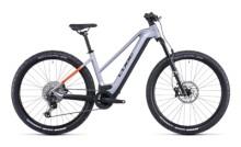 e-Mountainbike Cube Reaction Hybrid SL 750 29 polarsilver´n´orange