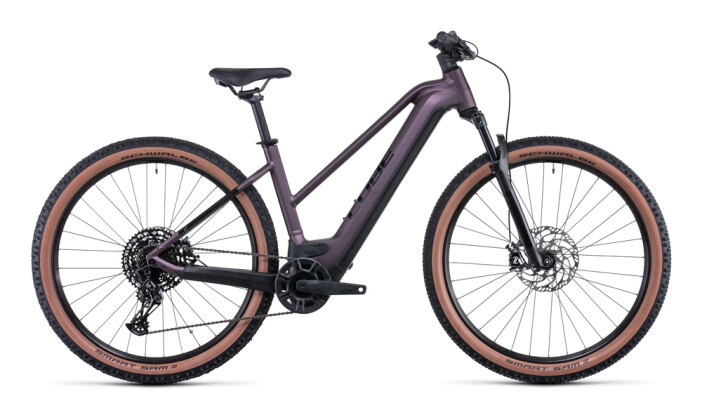 e-Mountainbike Cube Reaction Hybrid EXC 750 29 smokylilac´n´black 2022