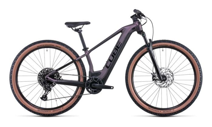 e-Mountainbike Cube Reaction Hybrid EXC 625 29 smokylilac´n´black 2022