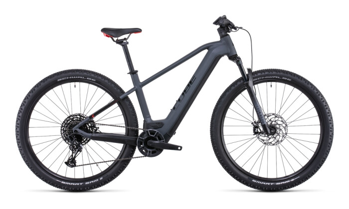 e-Mountainbike Cube Reaction Hybrid EXC 750 29 grey´n´red 2022