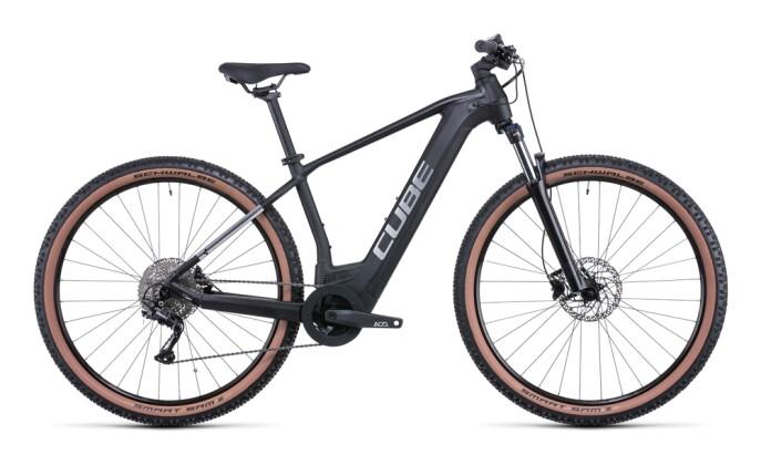 e-Mountainbike Cube Reaction Hybrid ONE 500 black´n´metal 2022