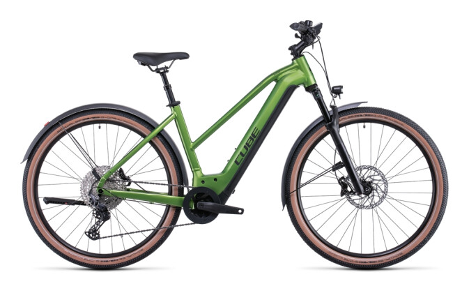 e-Mountainbike Cube Nuride Hybrid SL 750 Allroad forest´n´black 2022