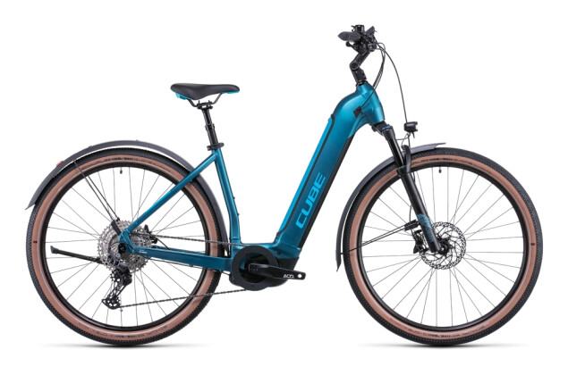 e-Mountainbike Cube Nuride Hybrid EXC 625 Allroad blue´n´blue 2022