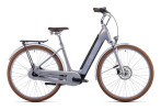 e-Citybike Cube Ella Cruise Hybrid 500 pearlysilver´n´white
