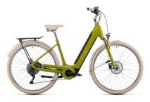 e-Citybike Cube Ella Ride Hybrid 500 avocado´n´cream