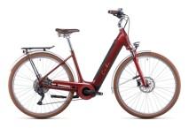 e-Citybike Cube Ella Ride Hybrid 500 auburn´n´salmon