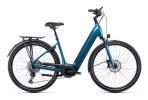 e-Citybike Cube Supreme Sport Hybrid EXC 625 blue´n´black