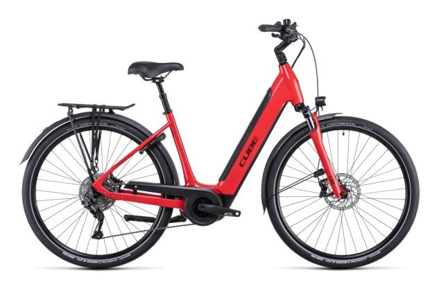 e-Citybike Cube Supreme Sport Hybrid Pro 500 red´n´black 2022
