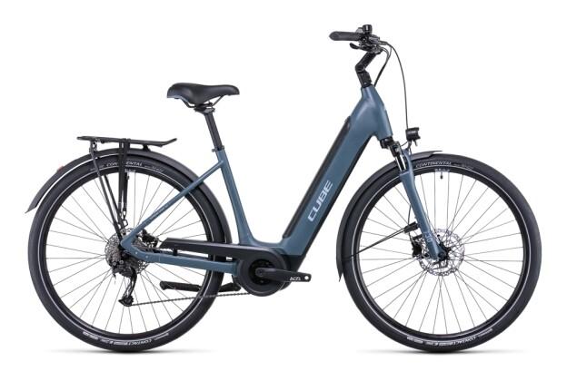 e-Citybike Cube Supreme Sport Hybrid ONE 500 greyblue´n´blue 2022