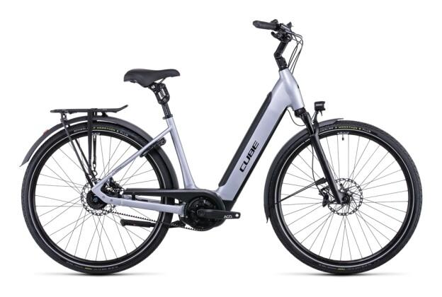 e-Citybike Cube Supreme Hybrid SL 625 polarsilver´n´black 2022