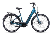 e-Citybike Cube Supreme Hybrid EXC 625 blue´n´black