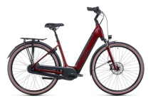 e-Citybike Cube Supreme RT Hybrid Pro 500 red´n´black