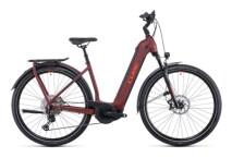 e-Trekkingbike Cube Kathmandu Hybrid SL 750 darkred´n´red