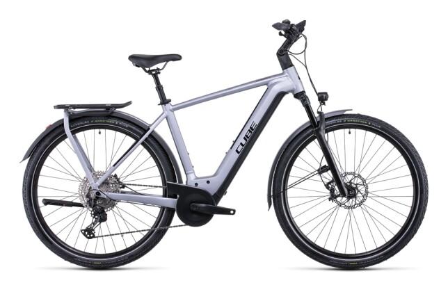 e-Trekkingbike Cube Kathmandu Hybrid SL 750 polarsilver´n´black 2022