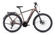 e-Citybike Cube Touring Hybrid EXC 500 mocha´n´black