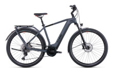 e-Citybike Cube Touring Hybrid EXC 625 grey´n´red