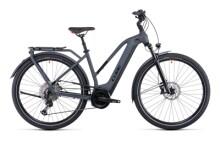 e-Citybike Cube Touring Hybrid EXC 500 grey´n´red