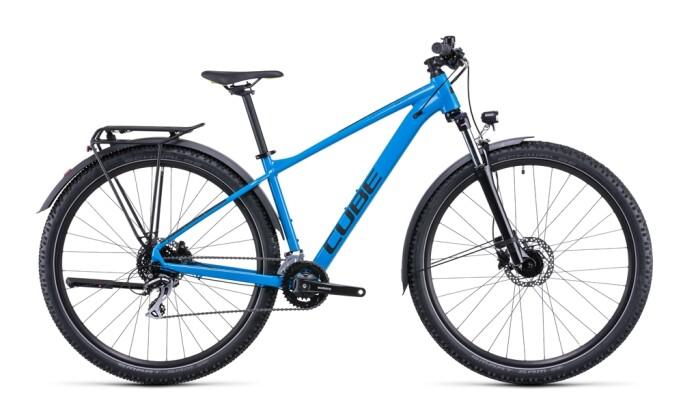 Mountainbike Cube Aim Race Allroad blue´n´green 2022