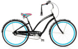 Cruiser-Bike Electra Bicycle Blanc et Noir 3i black ladies'