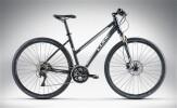 Crossbike Cube Cross PRO Black Anodized'n'White Trapeze