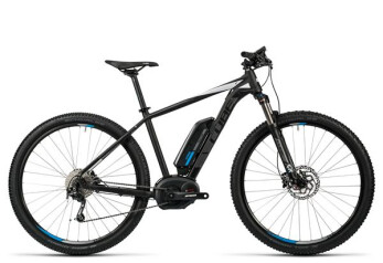E-Bike Cube Reaction Hybrid HPA Pro 400 black´n´white