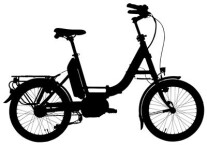 E-Bike Hercules ROB FOLD 8 Carbon