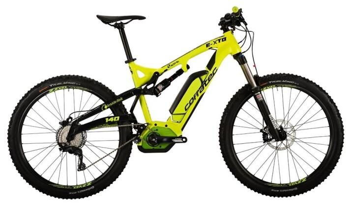 E-Bike Corratec E-XTB 10Hz CX 500 2017