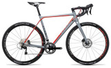 Rennrad Cube Cross Race Pro grey´n´flashred