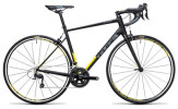 Rennrad Cube Attain SL black´n´yellow