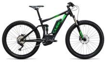 E-Bike Cube Stereo Hybrid 120 HPA Race 500 27.5+ black´n´green