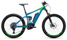 E-Bike Cube Stereo Hybrid 140 HPA SLT 500 27.5+ blue´n´green