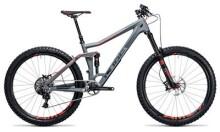 Mountainbike Cube Stereo 160 C:62 SL 27.5 grey´n´flashred