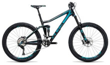 Mountainbike Cube Stereo 160 C:62 Race 27.5 carbon´n´blue