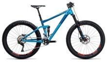 Mountainbike Cube Stereo 150 HPA SL 27.5+ blue´n´flashred