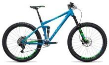 Mountainbike Cube Stereo 140 HPA SL 27.5 blue´n´green