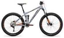 Mountainbike Cube Stereo 140 HPA Pro 27.5 grey´n´flashorange