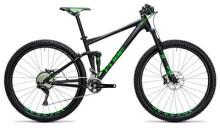 Mountainbike Cube Stereo 120 HPA SL black´n´green