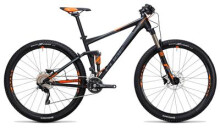 Mountainbike Cube Stereo 120 HPA Pro black´n´flashorange