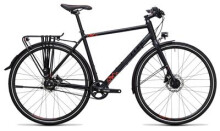 Citybike Cube Travel SL black´n´red