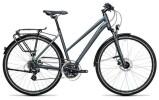 Trekkingbike Cube Touring Pro grey´n´flashgreen