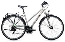 Trekkingbike Cube Touring silver´n´flashgreen
