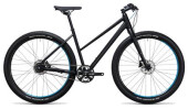 Crossbike Cube Hyde Pro black´n´blue
