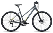 Crossbike Cube Cross Pro grey´n´lime