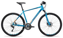 Crossbike Cube Nature Pro reefblue´n´flashorange