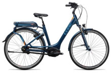 E-Bike Cube Travel Hybrid Pro 400 smoky blue´n´flashorange