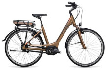 E-Bike Cube Travel Hybrid 400 havanna brown´n´orange