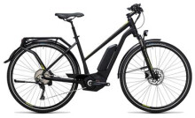 E-Bike Cube Touring Hybrid Exc 500 black´n´lime