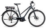 E-Bike Cube Touring Hybrid 400 grey´n´flashred